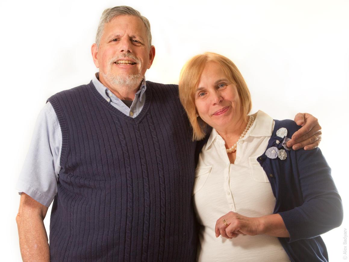 Bill Schaffer and Tanya Bronnikova (Photo by Alex Badyaev)