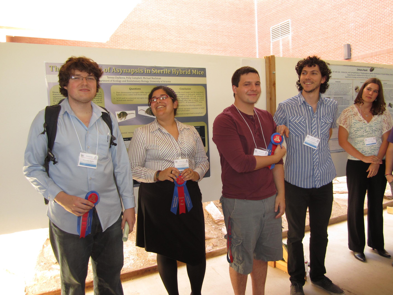 Poster Session winners of the Lucretia B Hamilton Award 2012